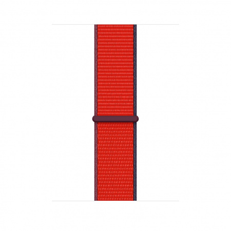 Apple Watch 44mm Band: (PRODUCT)RED Sport Loop (Seasonal Fall 2020)