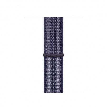 Apple Watch 40mm Nike Band: Purple Pulse Nike Sport Loop (Seasonal Fall 2020)