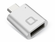 Nonda USB Type-C to USB 3.0 Type-A Mini Adapter - Silver