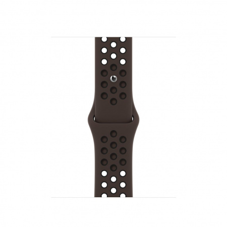 Apple Watch 40mm Nike Band: Ironstone/Black Nike Sport Nike Band - Regular (Seasonal Spring2021)