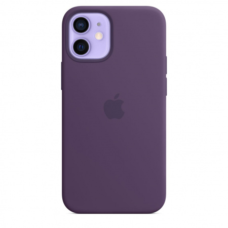 Apple iPhone 12 mini Silicone Case with MagSafe - Amethyst (Seasonal Spring2021)