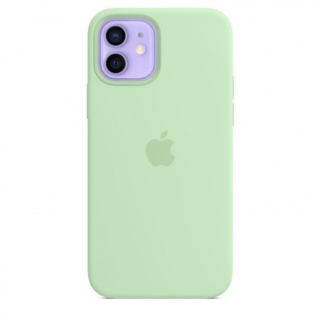 Apple iPhone 12/12 Pro Silicone Case with MagSafe - Pistachio (Seasonal Spring2021)