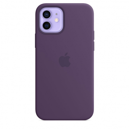 Apple iPhone 12/12 Pro Silicone Case with MagSafe - Amethyst (Seasonal Spring2021)
