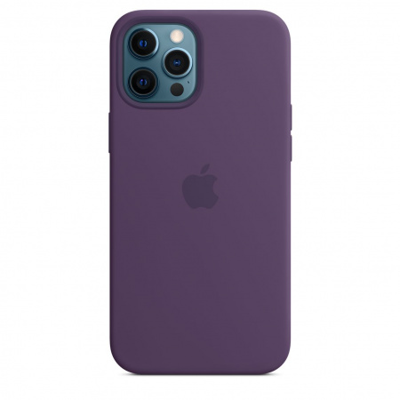 Apple iPhone 12 Pro Max Silicone Case with MagSafe - Amethyst (Seasonal Spring2021)