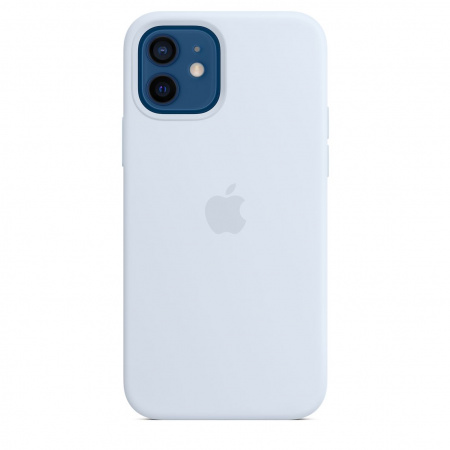 Apple iPhone 12 | 12 Pro Silicone Case with MagSafe - Cloud Blue