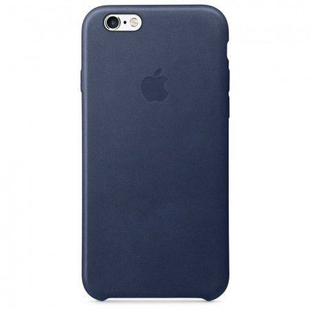Apple iPhone 6s Plus Leather Case - Midnight Blue