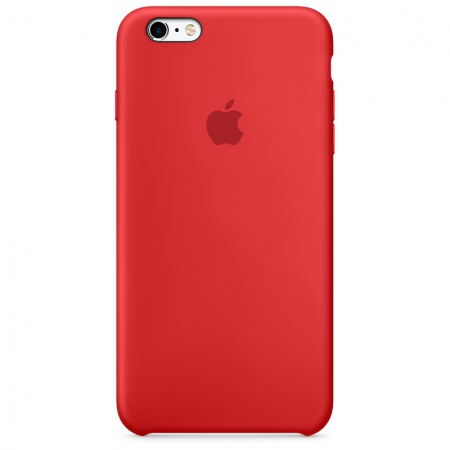 Apple iPhone 6s Plus Silicone Case - (PRODUCT)RED