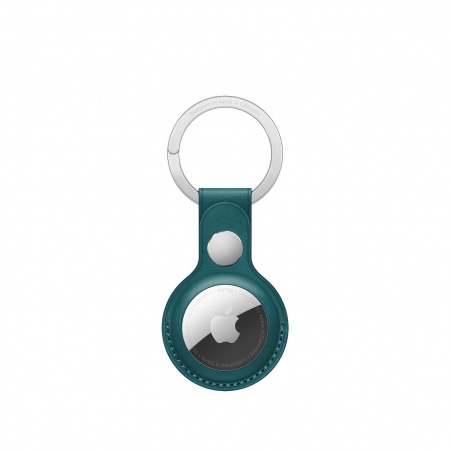 Apple AirTag Leather Key Ring - Forest Green (Seasonal Summer2021)