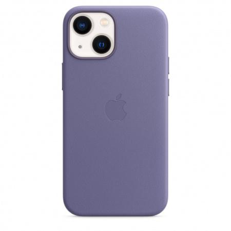 Apple iPhone 13 mini Leather Case with MagSafe - Wisteria  (Seasonal Fall 2021)