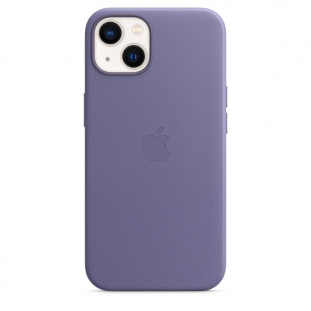 Apple iPhone 13 Leather Case with MagSafe - Wisteria  (Seasonal Fall 2021)