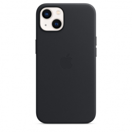 Apple iPhone 13 Leather Case with MagSafe - Midnight