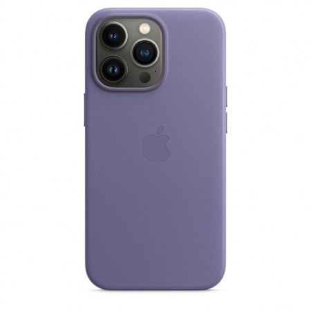 Apple iPhone 13 Pro Leather Case with MagSafe - Wisteria  (Seasonal Fall 2021)