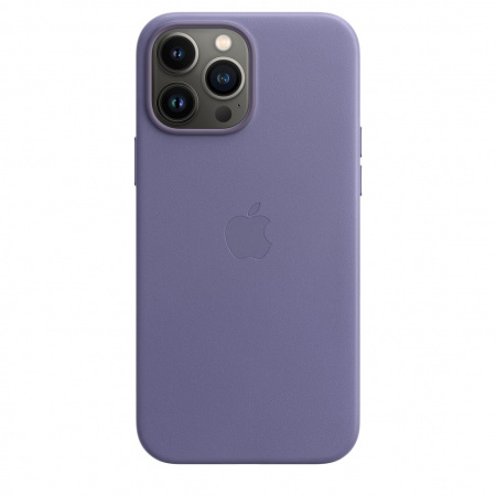 Apple iPhone 13 Pro Max Leather Case with MagSafe - Wisteria  (Seasonal Fall 2021)