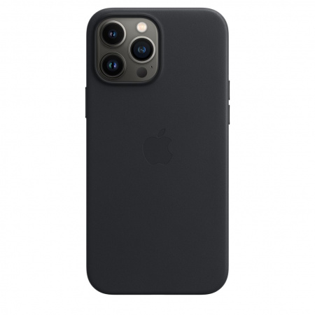 Apple iPhone 13 Pro Max Leather Case with MagSafe - Midnight