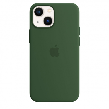 Apple iPhone 13 mini Silicone Case with MagSafe - Clover  (Seasonal Fall 2021)
