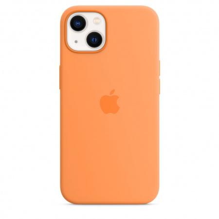 Apple iPhone 13 Silicone Case with MagSafe - Marigold  (Seasonal Fall 2021)
