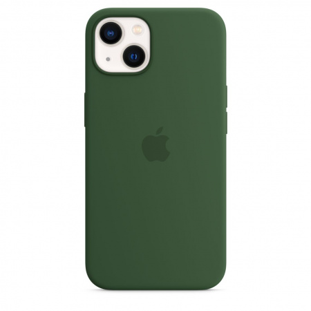 Apple iPhone 13 Silicone Case with MagSafe - Clover  (Seasonal Fall 2021)