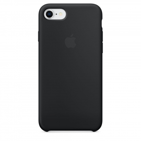 Apple iPhone 8/7 Silicone Case - Black