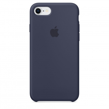 Apple iPhone 8/7 Silicone Case - Midnight Blue