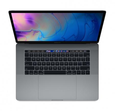 "MacBook Pro 15"" Touch Bar/6-core i7 2.2GHz/16GB/256GB SSD/Radeon Pro 555X w 4GB/Space Grey - HUN KB"