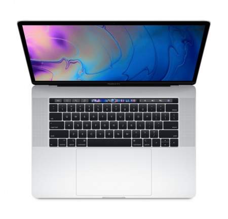 "MacBook Pro 15"" Touch Bar/6-core i7 2.2GHz/16GB/256GB SSD/Radeon Pro 555X w 4GB/Silver - INT KB"