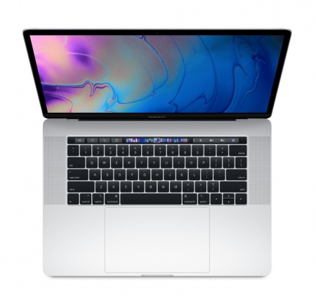"MacBook Pro 15"" Touch Bar/6-core i7 2.6GHz/16GB/512GB SSD/Radeon Pro 560X w 4GB/Silver - INT KB"