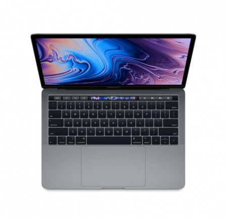 "MacBook Pro 13"" Touch Bar/QC i5 2.3GHz/8GB/256GB SSD/Intel Iris Plus Graphics 655/Space Grey - ROM KB"