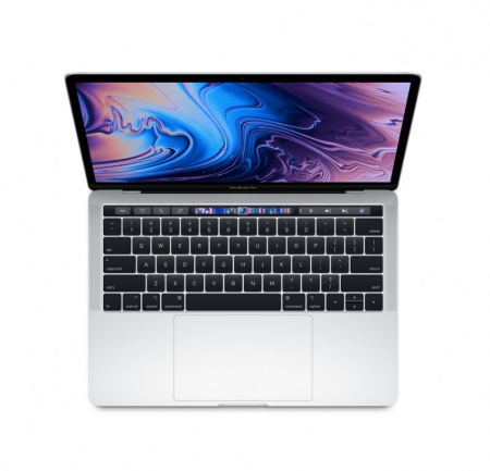 "MacBook Pro 13"" Touch Bar/QC i5 2.3GHz/8GB/256GB SSD/Intel Iris Plus Graphics 655/Silver - INT KB"