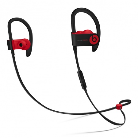 Beats Powerbeats3 Wireless Earphones - The Beats Decade Collection - Defiant Black-Red
