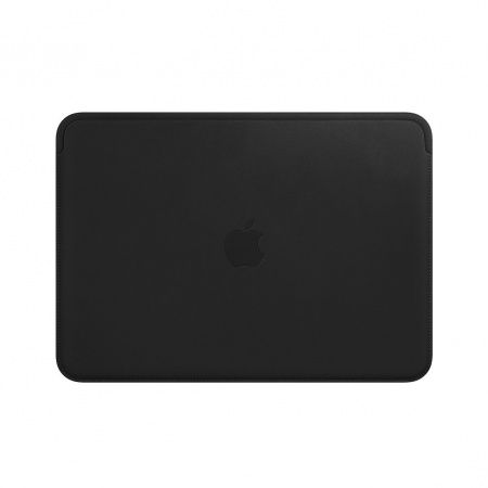Apple Leather Sleeve for 12-inch MacBook - Black