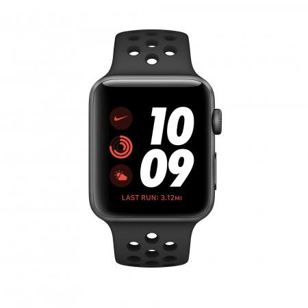 Derivación Disciplina vitamina  Apple Watch Nike Series 3 GPS + Cellular, 42mm Space Grey Aluminium Case  with Anthracite/Black Nike | Apcom CE