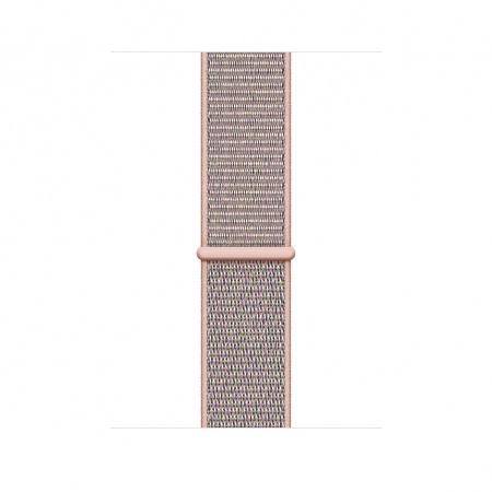 Apple Watch 44mm Band: Pink Sand Sport Loop