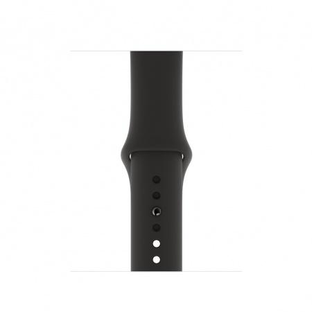 Apple Watch 40mm Band: Black Sport Band - S/M & M/L