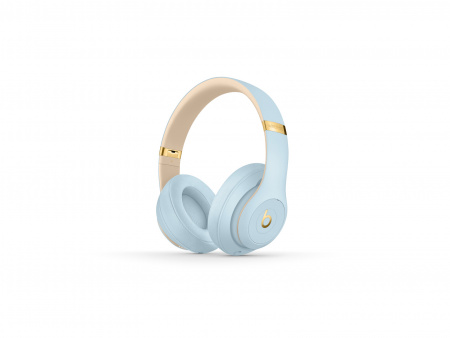 Beats Studio3 Wireless Over-Ear Headphones - Skyline Collection - Crystal Blue