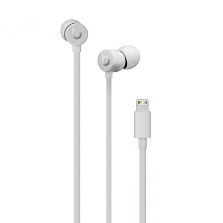 Beats urBeats3 Earphones with Lightning Connector - Satin Silver