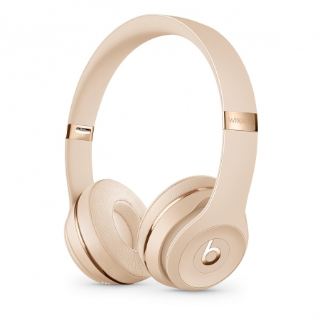 Beats Solo3 Wireless On-Ear Headphones - Satin Gold