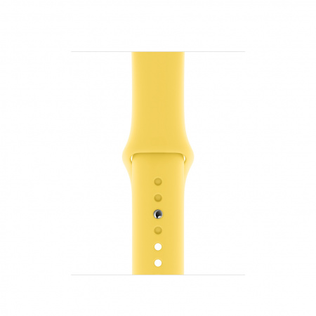Apple Watch 40mm Band: Canary Yellow Sport Band - S/M & M/L   (Seasonal Summer2019)