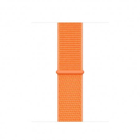 Apple Watch 40mm Band: Papaya Sport Loop (Seasonal Spring2019)
