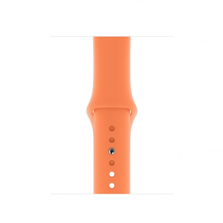Apple Watch 40mm Band: Papaya Sport Band - S/M & M/L (Seasonal Spring2019)