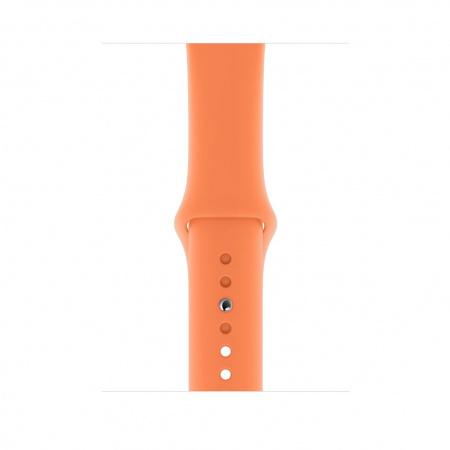 Apple Watch 44mm Band: Papaya Sport Band - S/M & M/L (Seasonal Spring2019)