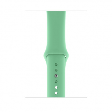 Apple Watch 44mm Band: Spearmint Sport Band - S/M & M/L (Seasonal Spring2019)