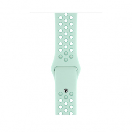 Apple Watch 44mm Nike Band: Teal Tint/Tropical Twist Nike Sport Band - S/M & M/L (Seasonal Spring2019)