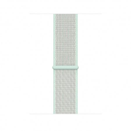 Apple Watch 44mm Nike Band: Teal Tint Nike Sport Loop (Seasonal Spring2019)