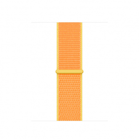 Apple Watch 40mm Band: Canary Yellow Sport Loop   (Seasonal Summer2019)