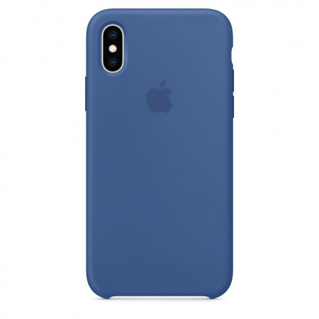 Apple iPhone XS Silicone Case - Delft Blue (Seasonal Spring2019)
