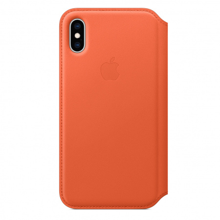 Apple iPhone XS Leather Folio - Sunset (Seasonal Spring2019)