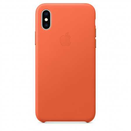 Apple iPhone XS Leather Case - Sunset (Seasonal Spring2019)