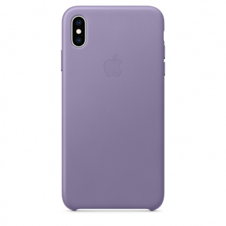 Apple iPhone XS Max Leather Case - Lilac (Seasonal Spring2019)
