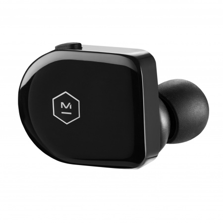 Master & Dynamic True Wireless Earphones - Piano Black