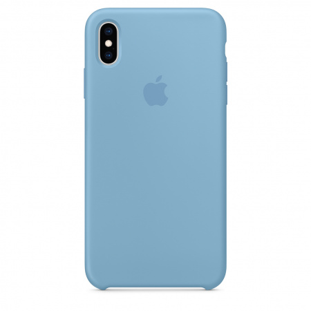 Apple iPhone XS Max Silicone Case - Cornflower   (Seasonal Summer2019)